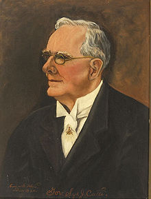 Biography: Sidney Johnstone Catts born July 31, 1863 – photograph – Governor of Florida