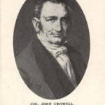 Col. John Crowell 1817 Territorial Delegate and Creek Indian Agent