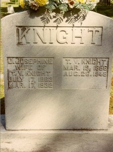 Photograph on Findagrave.com taken by Diane Knight Russell