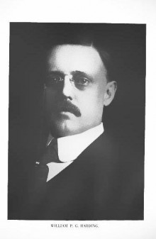 BIOGRAPHY: William Proctor Gould Harding (May 5, 1864- April 7, 1930)