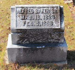 Alfred A. Baker tombstone