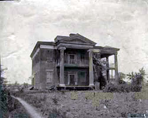 Cocheron Mansion in Cahaba, Alabama ca. 1900
