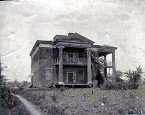 Cocheron Mansion in Cahaba, Alabama ca. 1900