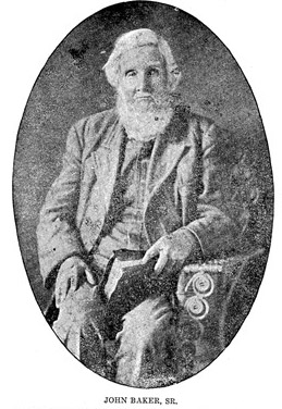 John Baker 1825-1915 - Autauga county and chilton,