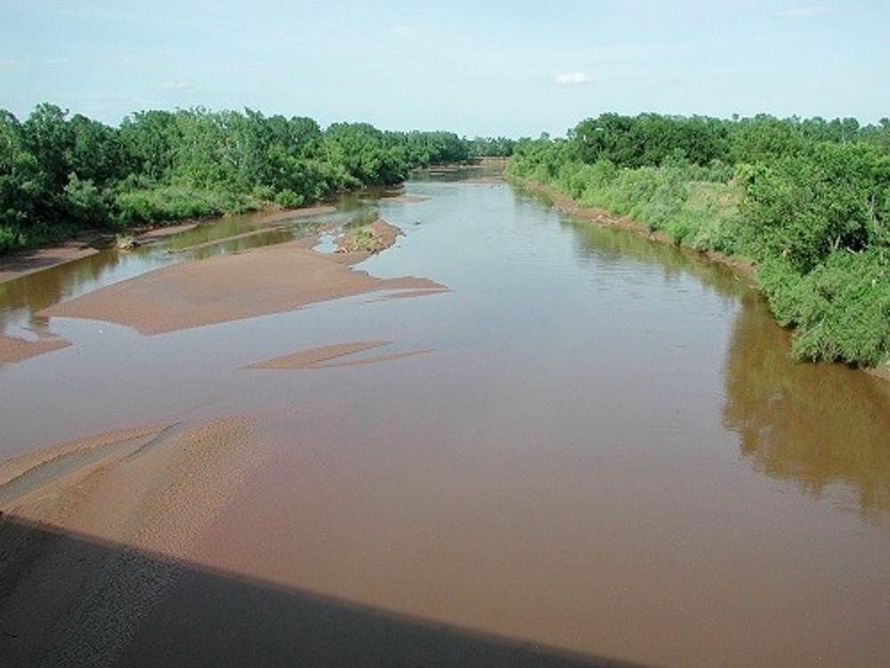 Washita_River_Pauls_Valley_Oklahoma