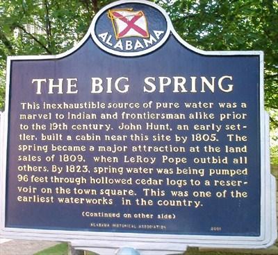 big spring marker