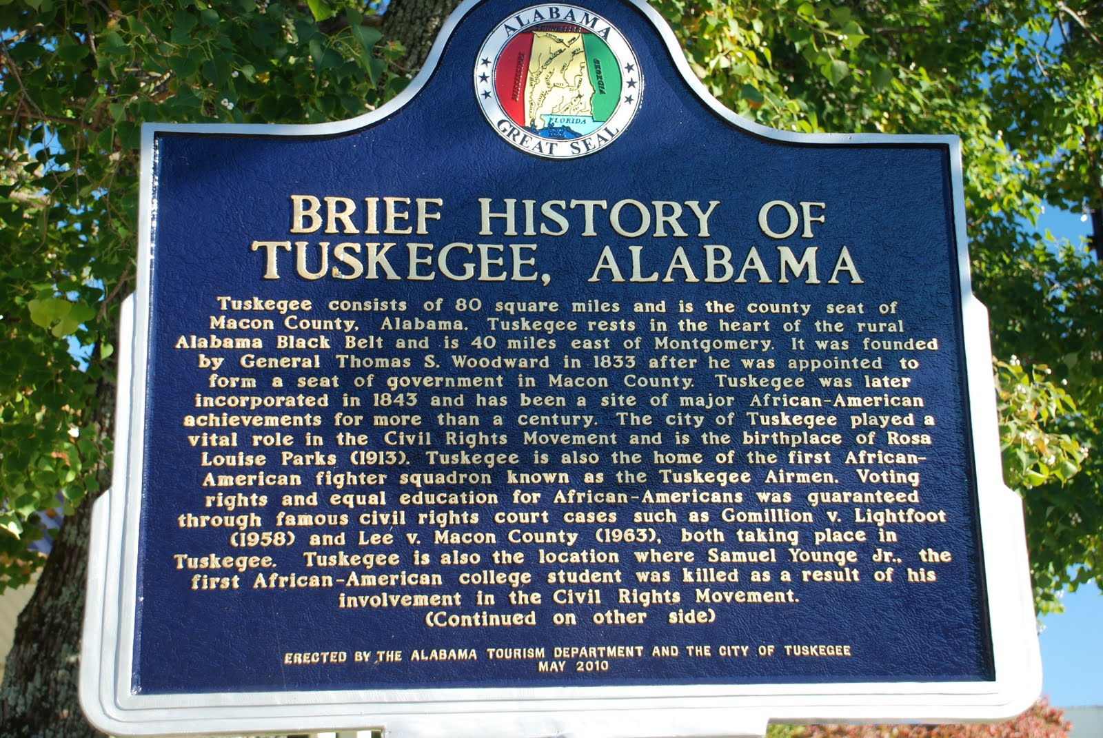 PATRON + Historic news article from 1877 recalls the beginning of Tuskegee, Alabama