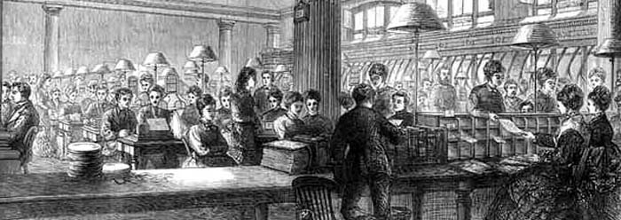 1870 office workers