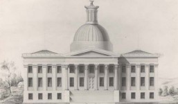 Beautiful Alabama State Capitol burned after it was built [see photographs]