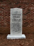 Tombstone with life story
