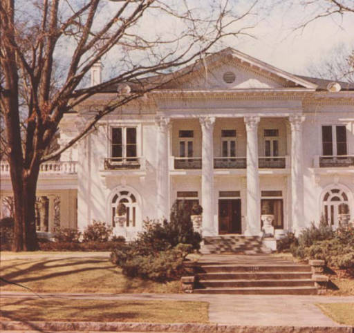 Current executive mansion - former Robert Ligon house - photograph 1979