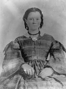 Biography: Mary Dickerson Pratt born Dec. 1800 Bibb County – photograph