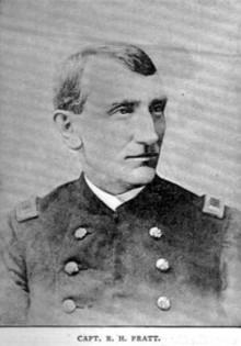 Biography: Richard Hopkins Pratt born December 17,  1827 – photograph