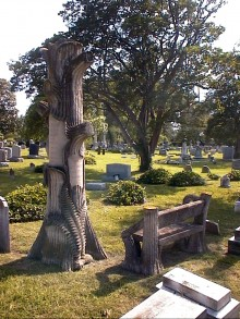 PATRON + TOMBSTONE TUESDAY: Two curious tombstones from the North