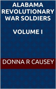 alabama rev. war volume I