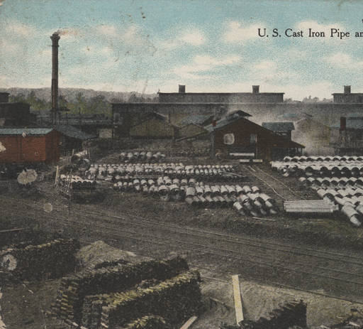 U.S. Cast Iron Pipe and Foundry, Bessemer, Alabama ca. 1900