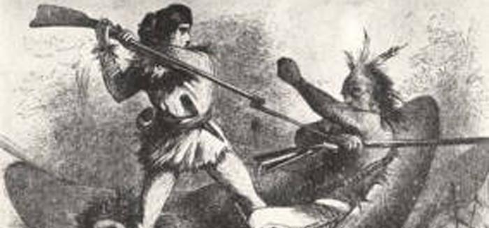 canoe fight