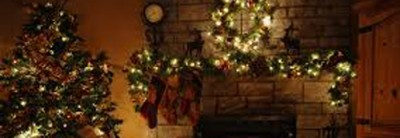 Decorating the Christmas Tree – Remember the aluminum and white trees?