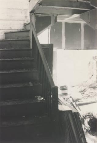 Corner stair of Hopkins Pratt house
