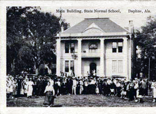 Daphne State Normal College ca. 1900 - main building