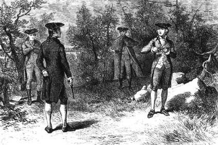 A gun duel took place in Montgomery, Alabama in 1839 that is hard to believe