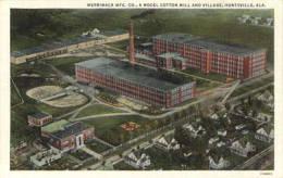 Merrimack Mfg. Co., a model cotton mill and village, Huntsville, Ala
