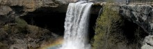 Extreme Kayakers test their fate & the reason for the Masonic Monument at Noccalula Falls is unveiled