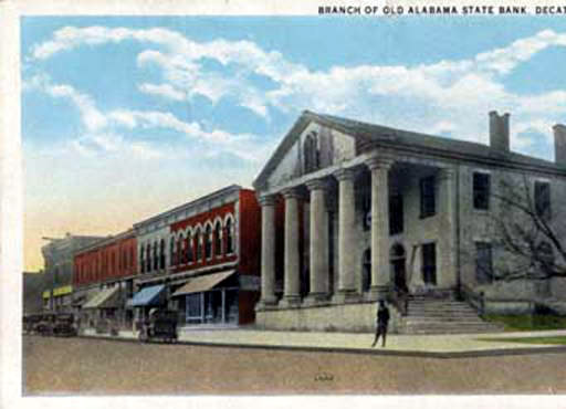 Old State Bank of Decatur, Alabama ca. 1921