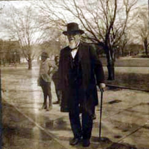 Edmund Winston Pettus on a street in Selma, Alabama