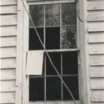 Window detail of Hopkins Pratt house built ca. 1830