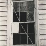 Window detail of Hopkins Pratt house built ca. 1830