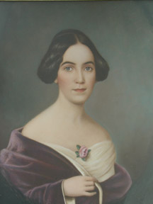 """Adelicia Hayes Alcklen (1817- 1887) mother of Col. Joseph H. Acklen and 'Mistress of Belmont"""""""