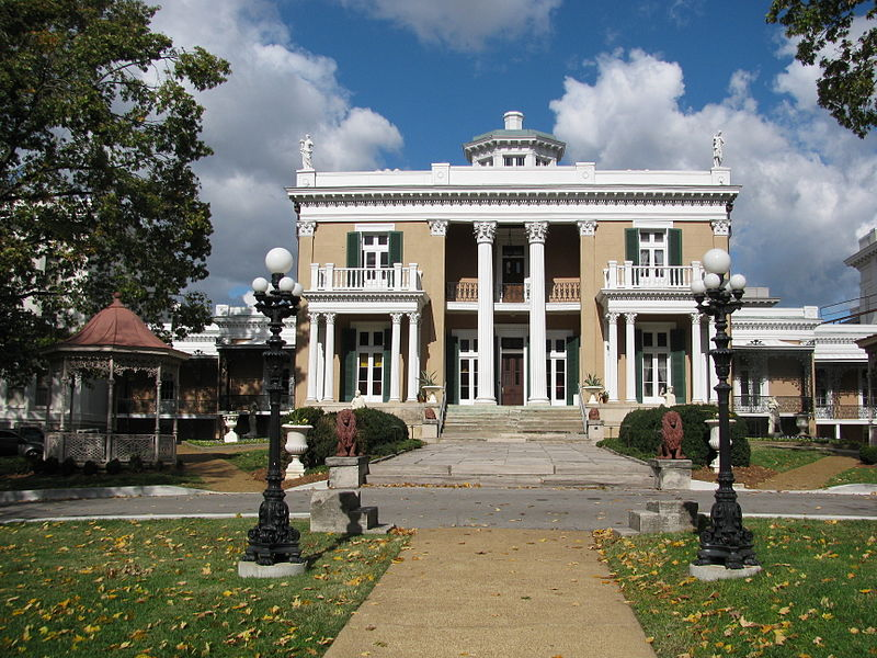 Belmont Mansion in Nashville, Tennessee - Col. Joseph H. Acklen's childhood home