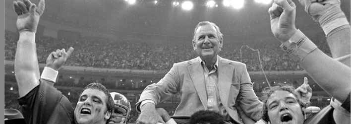 SUNDAY SOLILOQUY: Memories from the days of University of Alabama Coach Paul Bear Bryant