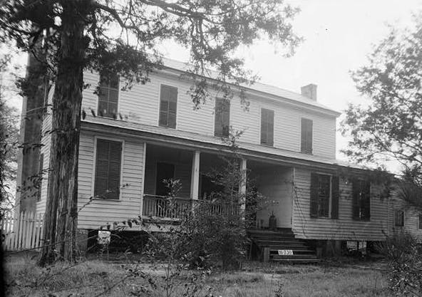 March 23, 1934. FRONT VIEW. - Childers-Tate House, Centenary Street, Summerfield, Dallas County, AL