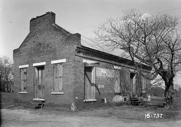 March 23, 1934. FRONT VIEW. - King House, Centenary Street, Summerfield, Dallas County, AL