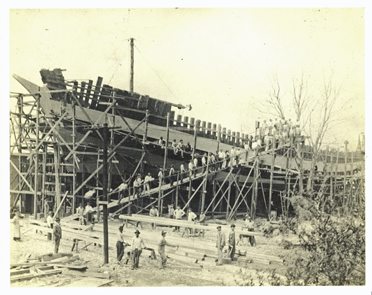 Shipbuilding in Mississippi during WWII