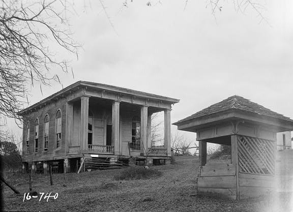Feb. 3, 1934. FRONT VIEW. - SOUTH ELEVATION - Summerfield College, Music Building, Main & College Streets, Summerfield, Dallas County, AL