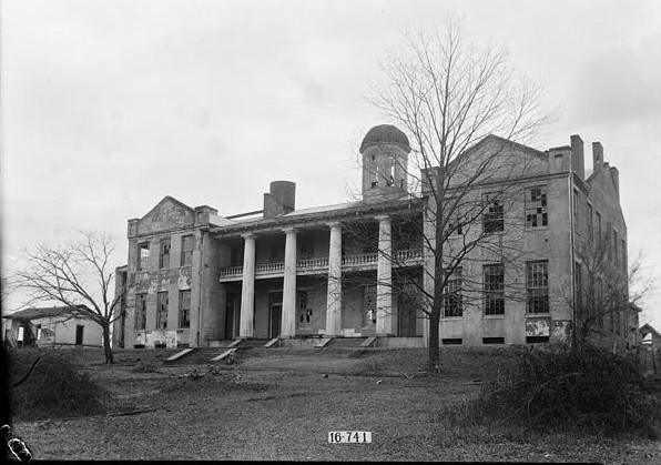 Summerfield College main building ca. 1934