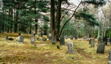 Don't go alone when transcribing cemeteries!!!  This is a reason why