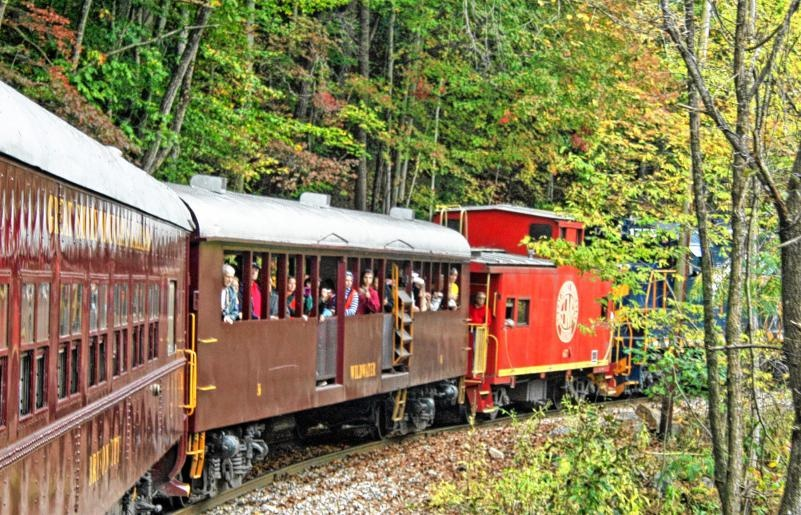 nantahalla national forest train