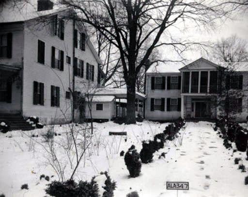 Pond Spring, the home of Joseph Wheeler, in Lawrence County, Alabama taken Jan 21, 1935