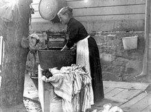 PATRON + GOOD OLE DAYS – How to wash your clothes 1868 style