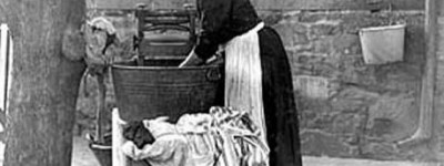 PATRON + GOOD OLE DAYS - How to wash your clothes 1868 style