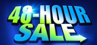 Don't miss the 48-hour sale