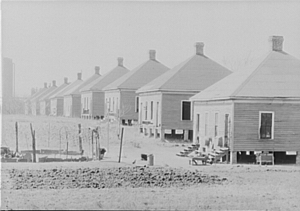Birmingham Steel workers houses owned by Republic Steel March 1936