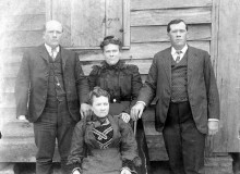 PATRON + First White Settlers in River Bend – Child of Hopkins Pratt, Sanford and Cruise family.
