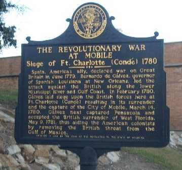 Fort conde marker