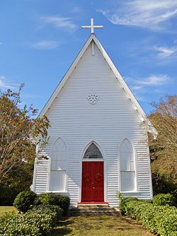 Grace Episcopal Church Clayton, Barbour County, Alabama