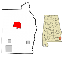Officers, candidates and agents for Abbeville, Alabama 1859